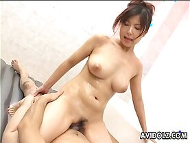 Hot tub sex with an Asian couple
