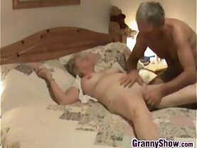 Granny Gets Pussy Fingered And Licked
