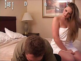 EasyDater Busy Babe has cheap motel blind date and he get it up