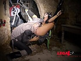Zombie Pirate Alison Tyler Rides Massive black Dick With Shaved Juicy Pussy