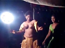 Stage dance in AP india