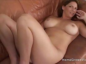 Hot big tit mom sucks fucks her sons friend