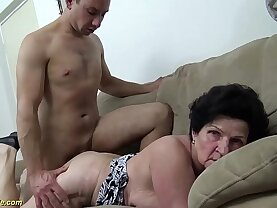 extreme hairy years old mom needs a young dick