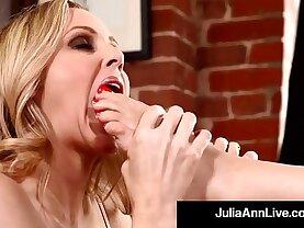 Hottest Milf Julia Ann Kimberly Kane Worship Their Feet!
