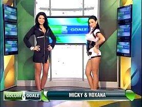 Goluri si Goale ep Miki si Roxana Romania naked news
